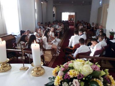 2020.08.22-23. Konfirmációi vizsga és ünnepi istentisztelet a IV. körzetben Rozsréten...